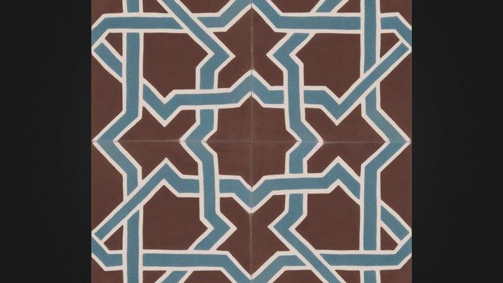 Fabio- Moroccan tile 3D Model
