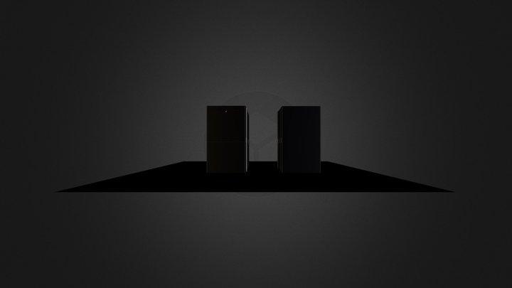 Salle des serveurs CA 3D Model