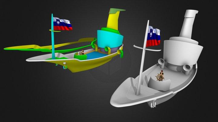Pepe_ladja 3D Model