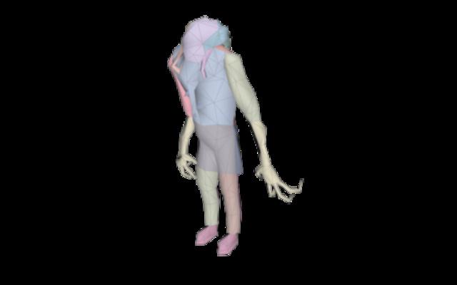 zombie-tex 3D Model