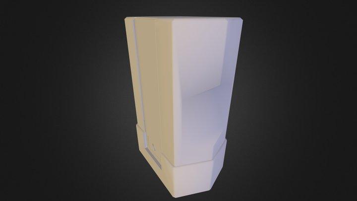 Flakon 3D Model