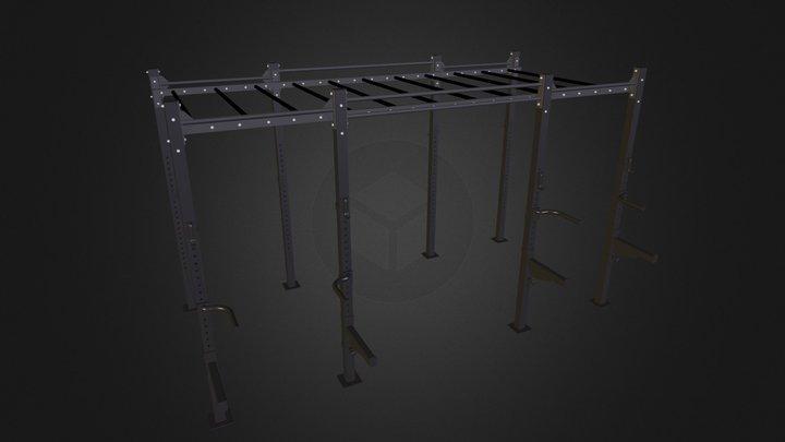 Cross Station Ladder 420 3D Model