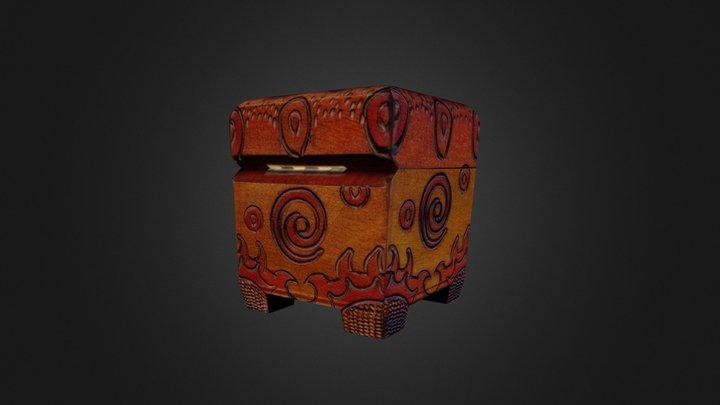 Decorative box Paul Potter 3D Model