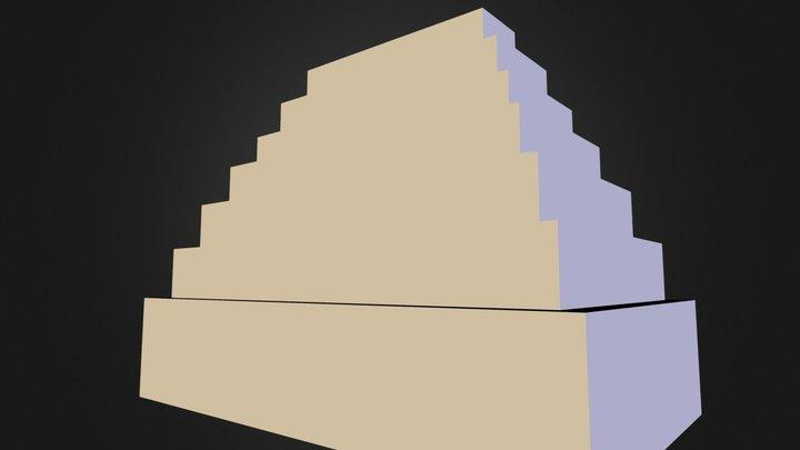 Great Pyramid of Tofu 3D Model