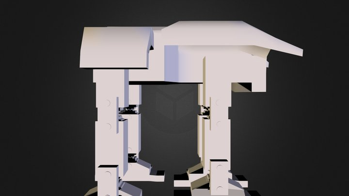 mammoth_UNBONED.lwo 3D Model