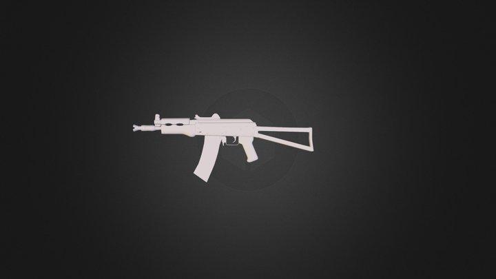 AK 74u.blend 3D Model