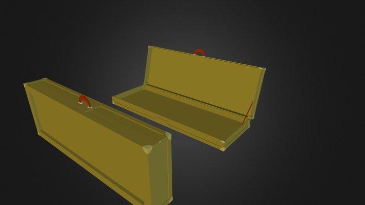 Base guitar case 3D Model