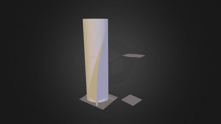 TorreEspacio_01.dae 3D Model