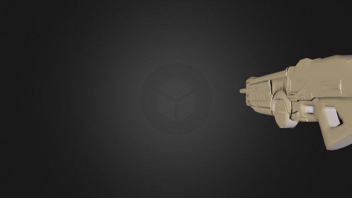ax1_assaultRifle.obj 3D Model