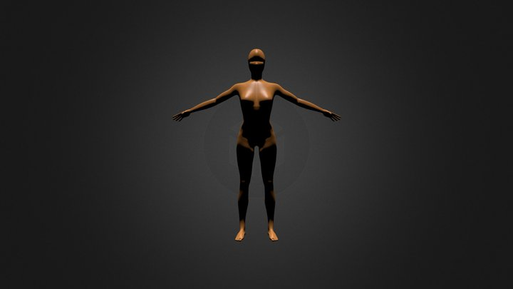 Mujer V1 3D Model