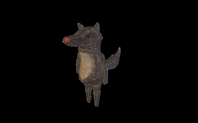 Big Bad Wolf Jr.fbx 3D Model