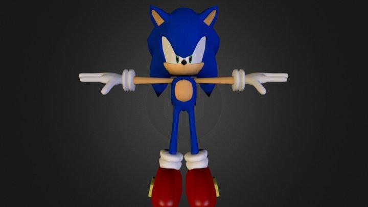 sonic_new_bkp.blend 3D Model