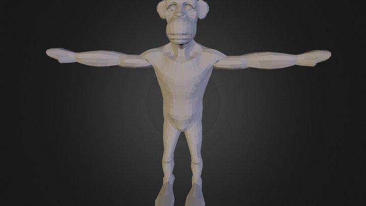 munkee 3D Model