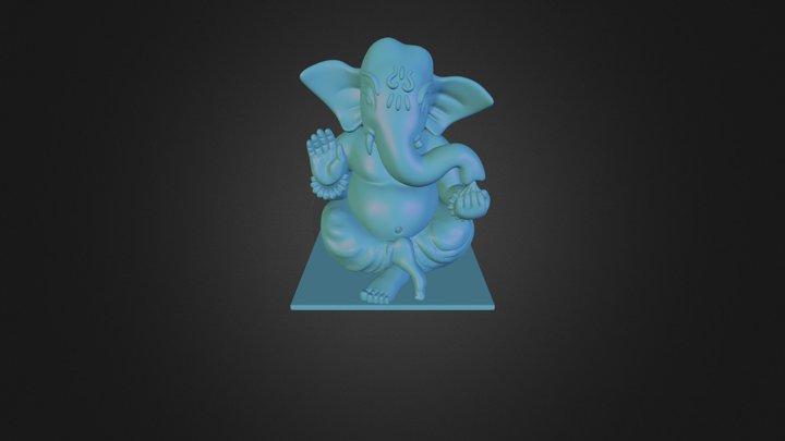 Ganapati.blend 3D Model