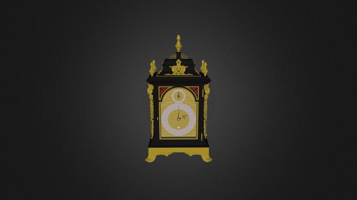 Antique Bracket Clock 2.zip 3D Model