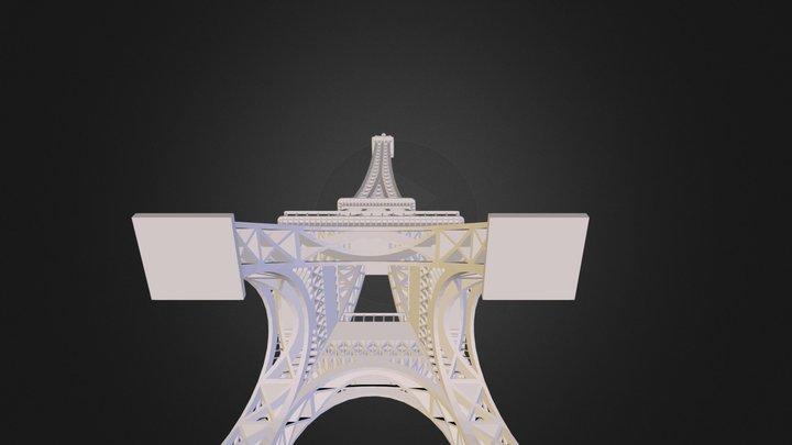 Final Eiffel Tower.STL 3D Model