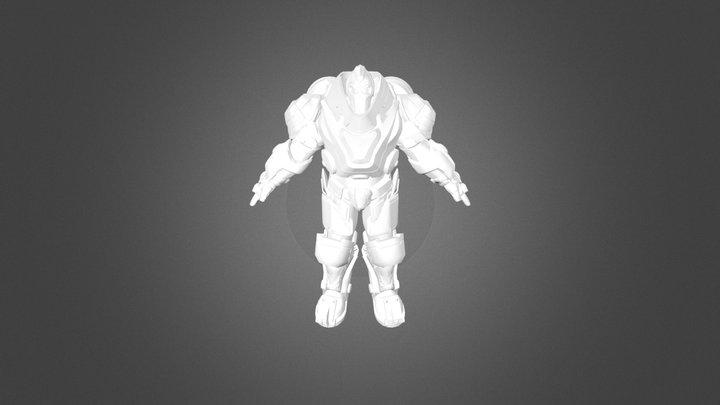 Planetside 2  terran MAX model 3D Model