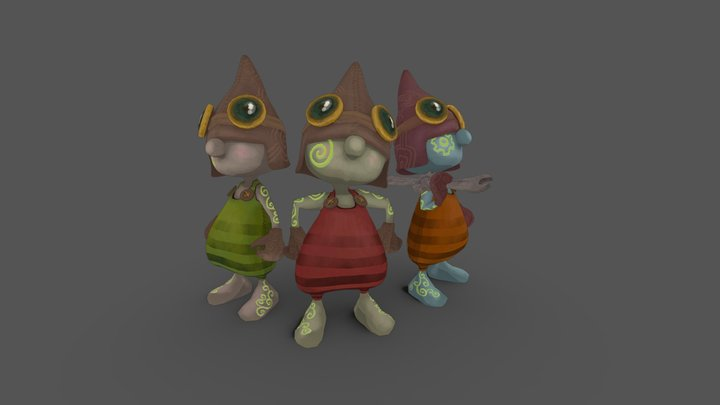 The Engineers 3D Model