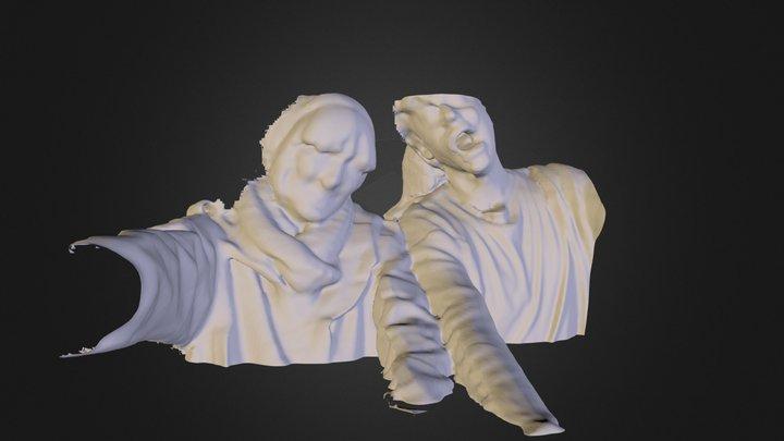 zombie1.dae 3D Model