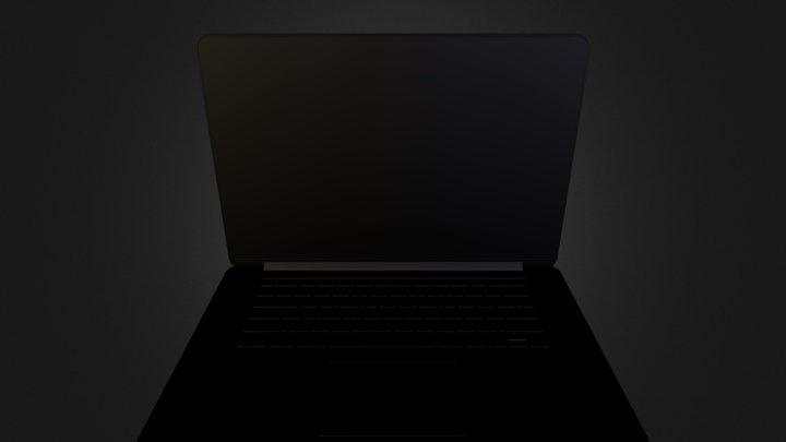 MacBook 3D Model