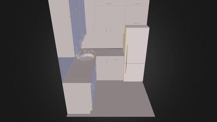 kuchnia III.dae 3D Model
