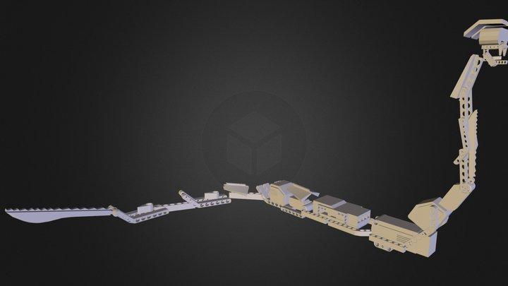 sathya_reptar.obj 3D Model