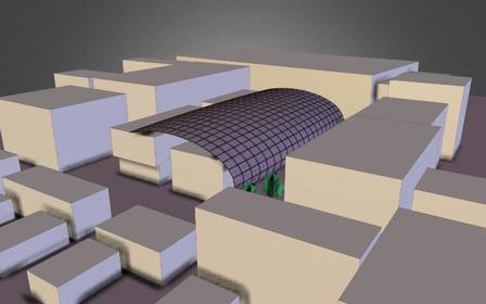 massing study 3D Model